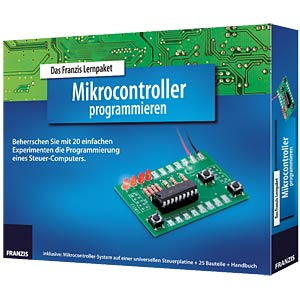 Educational kit: Programming microcontrollers FRANZIS-VERLAG ISBN 978-3-645-65135-6