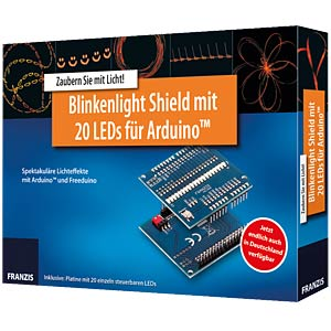 Arduino Shield Blinkenlight FRANZIS-VERLAG 978-3-645-65146-2