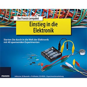 Educational kit: Introduction to electronics FRANZIS-VERLAG 978-3-645-65196-7