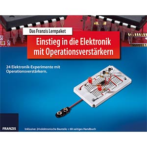 Educational kit: Electronics with operational amplifiers FRANZIS-VERLAG 978-3-645-65254-4