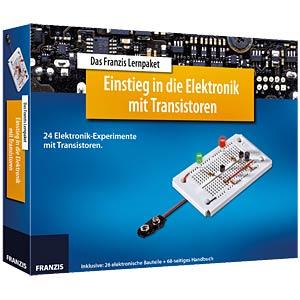 Lernpaket: Einstieg in die Elektronik mit Transistoren FRANZIS-VERLAG 978-3-645-65255-1