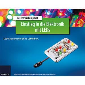 Educational kit: Electronics with LEDs FRANZIS-VERLAG 978-3-645-65257-5