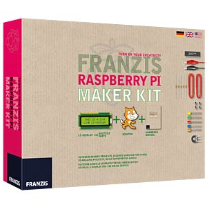 The Franzis Raspberry Pi maker kit - only in German FRANZIS-VERLAG 978-3-645-65269-8