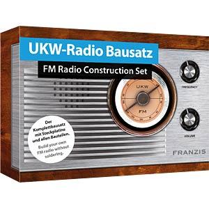 UKW-Radio Bausatz FRANZIS-VERLAG 978-3-645-65287-2