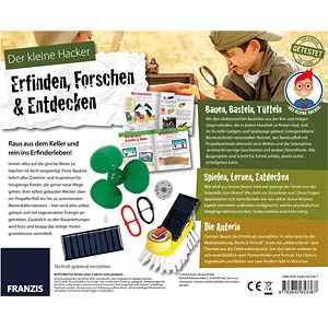 Der kleine Hacker: Erfinden, Forschen FRANZIS-VERLAG 978-3-645-65336-7