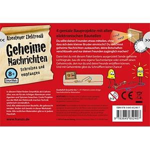 Bausatz: Geheime Nachrichten - Abenteuer Elektronik FRANZIS-VERLAG 978-3-645-65240-7