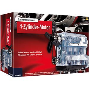 Assembly kit: 4-cylinder engine FRANZIS-VERLAG 978-3-645-65275-9