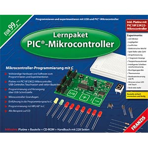 Educational kit: PIC microcontrollers FRANZIS-VERLAG 978-3-645-65069-4