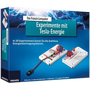 Lernpaket Experimente mit Tesla Energie FRANZIS-VERLAG 978-3-645-65201-8