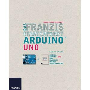 Starterpaket Arduino Uno FRANZIS-VERLAG 978-3-645-65203-2