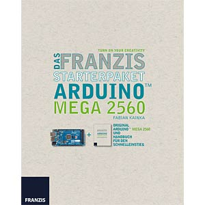Starterpaket Arduino Mega 2560 FRANZIS-VERLAG 978-3-645-65204-9