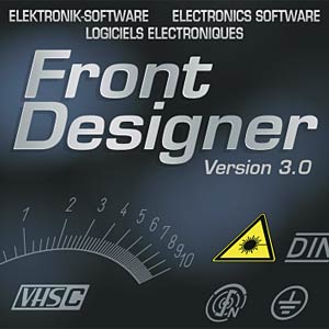 Frontplatten-Designer Version 3.0 ABACOM FRONTDESIGNER 3.0