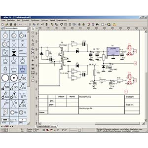 Elektronik Software, sPlan Schaltungseditor, Version 7.0 ABACOM