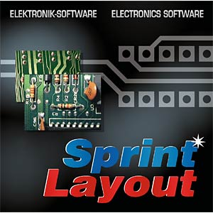 Layout software, CD-ROM ABACOM SPRINTLAYOUT