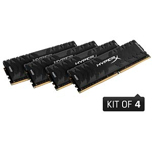 16 GB DDR4 3000 CL15 HyperX Predator 4er Kit HYPERX HX430C15PB3K4/16