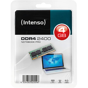 4 GB SO DDR4 2400 CL17 Intenso INTENSO 5742150