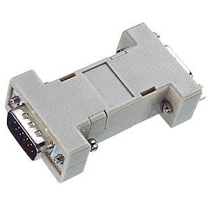 D-Sub-Adapter, 15-polig, Stecker-Buchse FREI