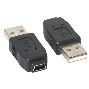USB-Adapter, A-Stecker auf 5-pol Mini Buchse FREI