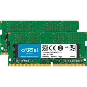 32 GB SO DDR4 2133 CL15 Crucial 2er Kit CRUCIAL CT2K16G4SFD8213