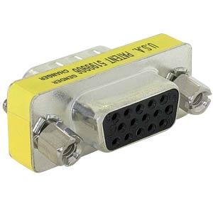 Adapter VGA Buche/Buchse DELOCK 65001