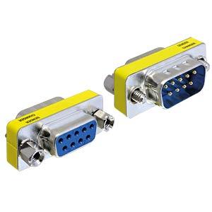 Adapter Sub-D 9Pin Stecker/Buchse Portschoner DELOCK 65249