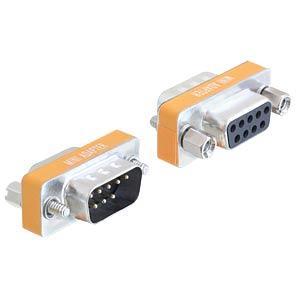 Adapter Sub-D 9Pin Stecker/Buchse Nullmodem DELOCK 65255