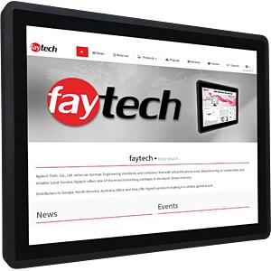 Industriële pc, 43,2 cm aanraakscherm, capacitief, Pentium FAYTECH FT17N42004G128GCAPOB
