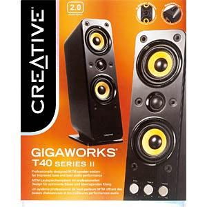 Creative 2.0-Lautsprechersystem CREATIVE 51MF1615AA000
