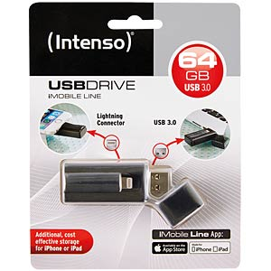 USB3.0 Flash 64GB with Lightning Connector INTENSO 3535490