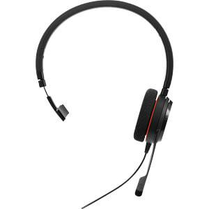 Headset, USB, Mono, Evolve 20 MS JABRA 4993-823-109