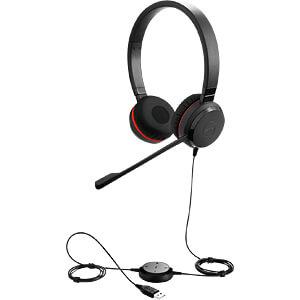 Headset, USB, Stereo, Evolve 30 II MS JABRA 5399-823-309