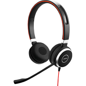 Headset, USB, Stereo, Evolve 40 UC JABRA 6399-829-209