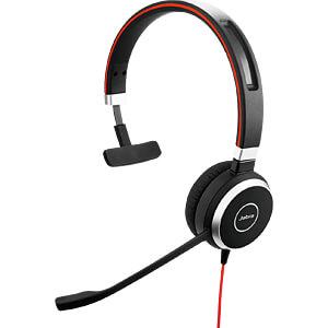 Headset, USB, Mono, Evolve 40 MS JABRA 6393-823-109