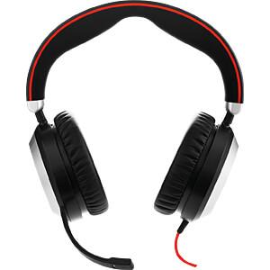 Headset, USB, Stereo, Evolve 80 UC JABRA 7899-829-209