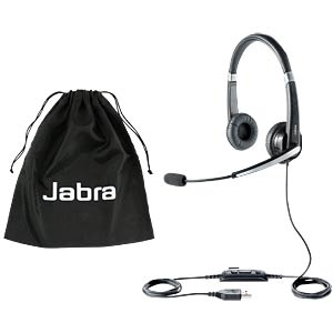 Headset, USB, VoIP, Stereo, UC VOICE 550 MS Duo JABRA 5599-823-109
