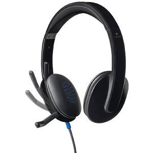 Headset, USB, Stereo, H540 LOGITECH 981-000480