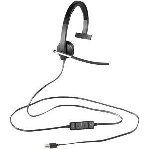 Headset, USB, Mono, H650E LOGITECH 981-000514