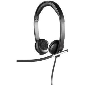 Headset, USB, Stereo, H650E LOGITECH 981-000519