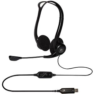 Headset, USB, Stereo, PC960 LOGITECH 981-000100