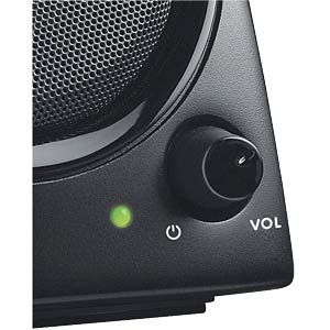 Logitech 2.0 Speaker System, black LOGITECH 980-000418