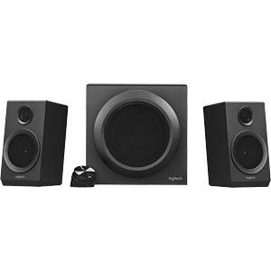 Logitech 2.1 Speaker System, black LOGITECH 980-001202