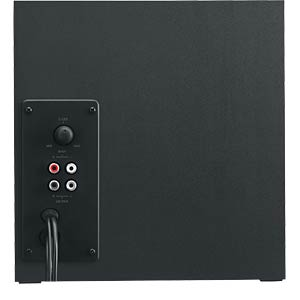 Logitech 2.1 Lautsprechersystem, schwarz LOGITECH 980-001202