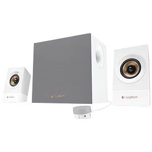 Logitech 2.1 Speaker System, white LOGITECH 980-001255