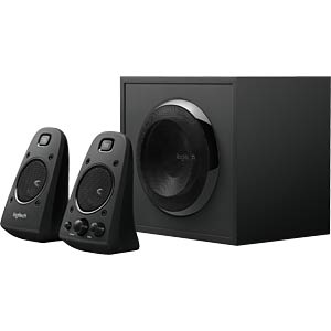 Logitech 2.1 Speaker System, black LOGITECH 980-000403