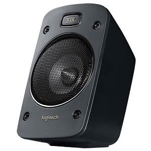 Logitech 5.1 Speaker System, black LOGITECH 980-000468