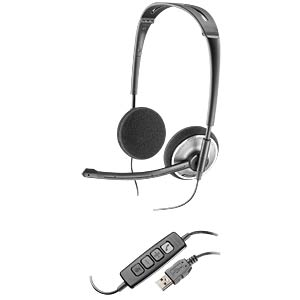 Headset, USB, VoIP, Stereo, Audio 478 PLANTRONICS 81962-25
