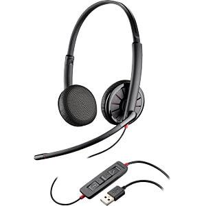 Headset, USB/Klinke, Stereo, Blackwire C325.1-M PLANTRONICS 204446-01