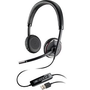 Headset, USB, Stereo, Blackwire C520 PLANTRONICS 88861-01