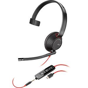 Headset, USB C/Klinke, Mono, Blackwire C5210 PLANTRONICS 207587-01