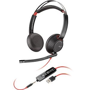 Headset, USB A/Klinke, Stereo, Blackwire C5220 PLANTRONICS 207576-01
